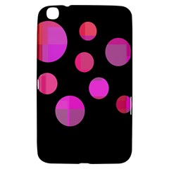 Pink Abstraction Samsung Galaxy Tab 3 (8 ) T3100 Hardshell Case  by Valentinaart
