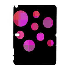 Pink Abstraction Samsung Galaxy Note 10 1 (p600) Hardshell Case by Valentinaart