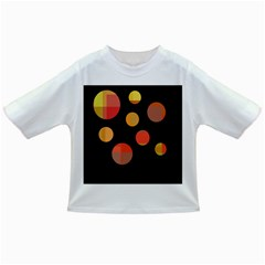 Orange Abstraction Infant/toddler T Shirts