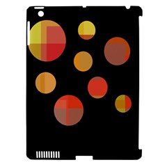 Orange Abstraction Apple Ipad 3/4 Hardshell Case (compatible With Smart Cover) by Valentinaart