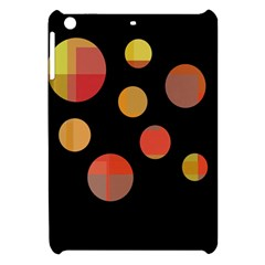 Orange Abstraction Apple Ipad Mini Hardshell Case by Valentinaart