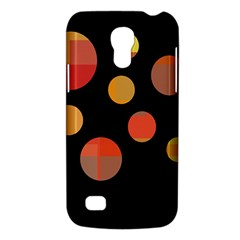 Orange Abstraction Galaxy S4 Mini by Valentinaart