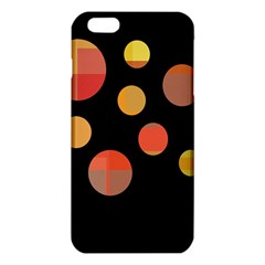 Orange Abstraction Iphone 6 Plus/6s Plus Tpu Case by Valentinaart