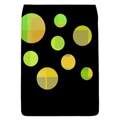 Green Abstract Circles Flap Covers (s)