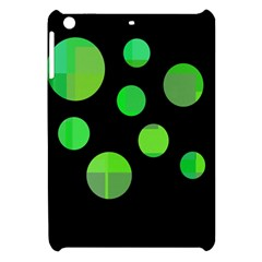 Green Circles Apple Ipad Mini Hardshell Case by Valentinaart