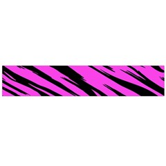 Pink Tiger Flano Scarf (large) by ArtistRoseanneJones