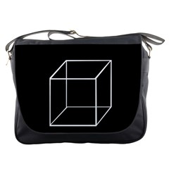 Simple Cube Messenger Bags