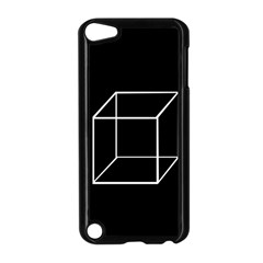 Simple Cube Apple Ipod Touch 5 Case (black) by Valentinaart