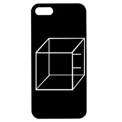Simple Cube Apple Iphone 5 Hardshell Case With Stand by Valentinaart