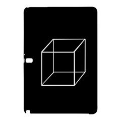 Simple Cube Samsung Galaxy Tab Pro 12 2 Hardshell Case by Valentinaart