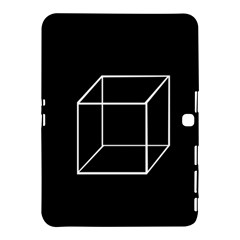 Simple Cube Samsung Galaxy Tab 4 (10 1 ) Hardshell Case  by Valentinaart