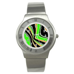 Colors Of 70 s Stainless Steel Watch by Valentinaart