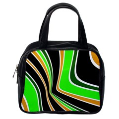 Colors Of 70 s Classic Handbags (one Side) by Valentinaart