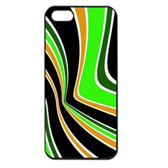 Colors Of 70 s Apple Iphone 5 Seamless Case (black) by Valentinaart