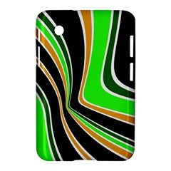 Colors Of 70 s Samsung Galaxy Tab 2 (7 ) P3100 Hardshell Case  by Valentinaart