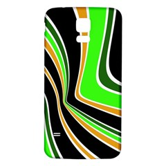 Colors Of 70 s Samsung Galaxy S5 Back Case (white) by Valentinaart