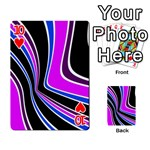 Colors of 70 s Playing Cards 54 Designs  Front - Heart10
