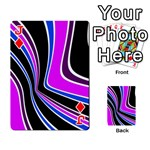Colors of 70 s Playing Cards 54 Designs  Front - DiamondJ