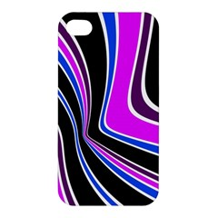 Colors Of 70 s Apple Iphone 4/4s Premium Hardshell Case by Valentinaart