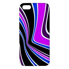 Colors Of 70 s Iphone 5s/ Se Premium Hardshell Case by Valentinaart