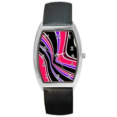 Colors Of 70 s Barrel Style Metal Watch by Valentinaart