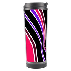 Colors Of 70 s Travel Tumbler by Valentinaart
