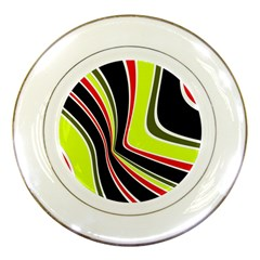 Colors Of 70 s Porcelain Plates