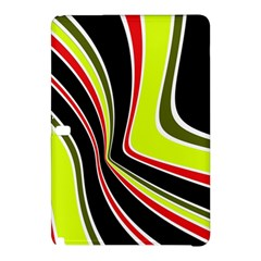 Colors Of 70 s Samsung Galaxy Tab Pro 12 2 Hardshell Case by Valentinaart