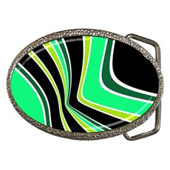 Colors Of 70 s Belt Buckles by Valentinaart