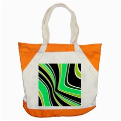 Colors Of 70 s Accent Tote Bag by Valentinaart