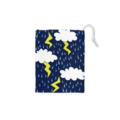 Thunderstorms Drawstring Pouches (xs)