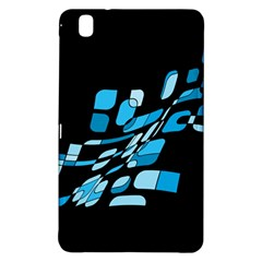 Blue Abstraction Samsung Galaxy Tab Pro 8 4 Hardshell Case by Valentinaart