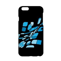 Blue Abstraction Apple Iphone 6/6s Hardshell Case by Valentinaart
