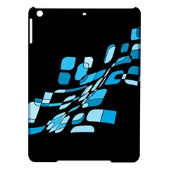 Blue Abstraction Ipad Air Hardshell Cases by Valentinaart