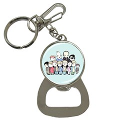 Goonies Vs Monster Squad Bottle Opener Key Chains by lvbart