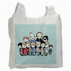 Goonies Vs Monster Squad Recycle Bag (one Side) by lvbart