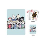 Goonies Vs Monster Squad Playing Cards (Mini)  Back