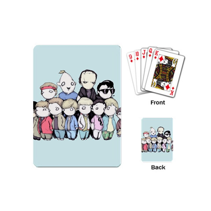 Goonies Vs Monster Squad Playing Cards (Mini)