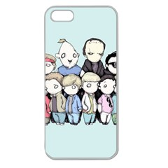 Goonies Vs Monster Squad Apple Seamless Iphone 5 Case (clear) by lvbart