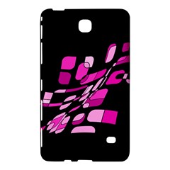 Purple Abstraction Samsung Galaxy Tab 4 (8 ) Hardshell Case  by Valentinaart