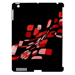 Orange Abstraction Apple Ipad 3/4 Hardshell Case (compatible With Smart Cover)