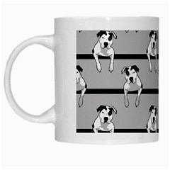 Pit Bull T Bone White Mug by ButThePitBull