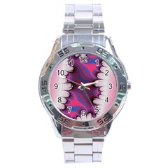 Liquid Roses Stainless Steel Analogue Watch by TRENDYcouture