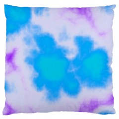 Blue And Purple Clouds Standard Flano Cushion Case (two Sides) by TRENDYcouture