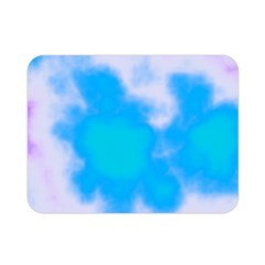 Blue And Purple Clouds Double Sided Flano Blanket (mini)  by TRENDYcouture