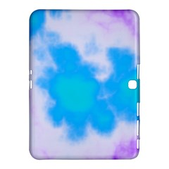 Blue And Purple Clouds Samsung Galaxy Tab 4 (10 1 ) Hardshell Case  by TRENDYcouture
