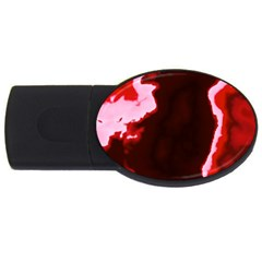 Crimson Sky Usb Flash Drive Oval (2 Gb)  by TRENDYcouture