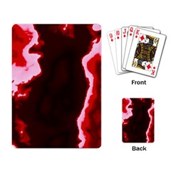 Crimson Sky Playing Card by TRENDYcouture