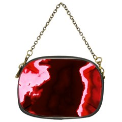 Crimson Sky Chain Purses (one Side)  by TRENDYcouture