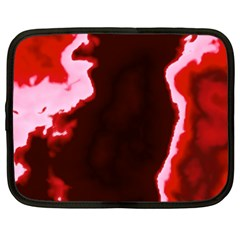 crimson sky Netbook Case (XXL)